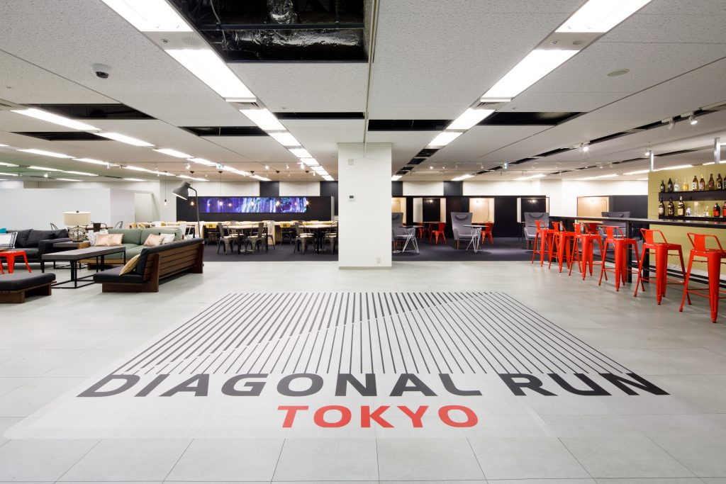 DIAGONAL RUN TOKYO(東京都中央区)